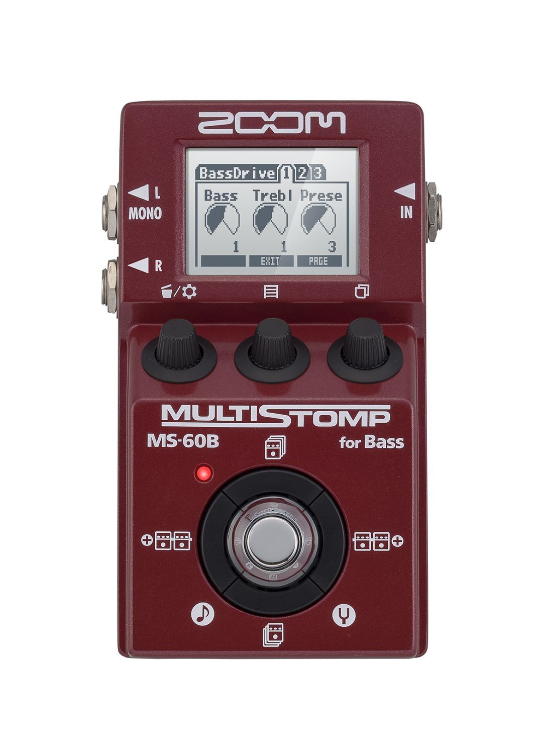 Home Central Music Squishy Circuits Deluxe Kit Click To Enlarge Plug Into Zooms Ms 60b Multistomp And Bring Your Bass The Forefront 58 Expertly Crafted Dsp Effects Amp Cabinet Models Give You Everything