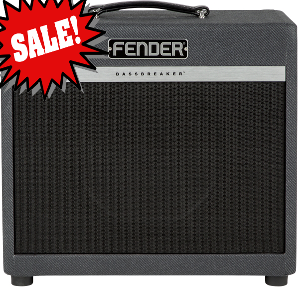 Bassbreaker BB 112 Enclosure *DEMO* reg.  $339.99 Bassbreaker series guitar amplifiers continue Fender`s storied lineage with a kind of `parallel evolution` that evokes the dawn of hard rock.  Bassbreaker takes the original Bassman design and breaks away with features including dark gray lacquered tweed covering, refined pointer knobs and unique circuitry plus power tubes and speakers hinting at the U.K.  amps that `borrowed` Fender circuits in the 1960s.  The sound is one of pure tube greatness.<br><br>BB 112 and BB 212 speaker enclosures are engineered to perfectly match and enhance Bassbreaker combos and heads.  They offer rich, resonant voicing and low-end `thump,` with pro-level performance for today`s rock players.<br><br>Features:<br><br>*Semi-closed back for full, rich lows<br>*One 12 inch, 8 Ohm Celestion V-Type speaker<br>*Total impedance 8 Ohms<br>*Fits neatly under Bassbreaker 15 combo and head<br>*Also works well with Bassbreaker 007 head<br><br>General<br>Model Name: Bassbreaker&trade; BB-112 Enclosure<br>Model Number: 2267000000<br>Series: Bassbreaker<br>Amplifier Type: Speaker Enclosure<br>Color: Gray Tweed<br><br>Electronics<br>Inputs: N/A<br>Channels: N/A<br>Voltage: NA<br>Wattage: 70 Watts at 8 ohms<br><br>Hardware<br>Cabinet Material: Birch Ply<br>Handle: Black Leather Handle<br>Front Panel: Black<br>Control Knobs: Black Plastic<br><br>Tubes<br>Pre Amp Tubes: NA<br>Power Tubes: NA<br><br>Miscellaneous<br>Included Accessories: Optional cover (p/n 7707953000) available<br><br>Accessories<br>FootSwitch: NA<br><br>*only one available, SN M1650200